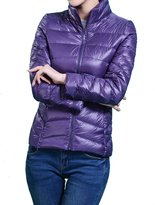 HengJia Women's Packable Down Puffer Coat Lightweight Down Winter Jacket Medium