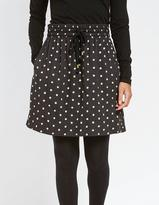 Fat Face Dana Painted Polka Dot Skirt