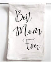 Aspen Lane Set Of 2 Best Mom Ever Flour Sack Towels