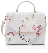 Ted Baker Oriental Blossom Crosshatch Small Satchel