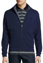 Z Zegna Stretch Cotton-Modal Zip Jacket
