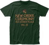 Impact New Order English Rock Band Music Ceremony Lonely Place Adult Fitted Jersey Tee