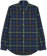 Polo Ralph Lauren Checked Custom Cotton Shirt