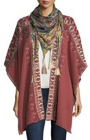 Johnny Was Spezia Silk Georgette Scarf