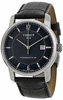 Tissot Men's T0874074605700 T-Classic Analog Display Swiss Automatic Black Watch