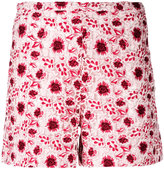 Giambattista Valli embroidered shorts - women - Cotton/Polyester/Polyamide/Silk - 42