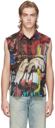 Our Legacy Multicolor Tagged Separee Company Shirt
