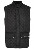 Belstaff Black Quilted Shell Waistcoat