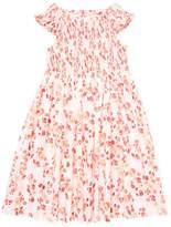 Elephantito Floral Print Smocked Dress