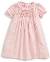 Luli & Me Infant Girl's Viyella Smocked Dress