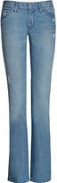 SEVEN FOR ALL MANKIND Light Blue Vintage Bootcut Jeans
