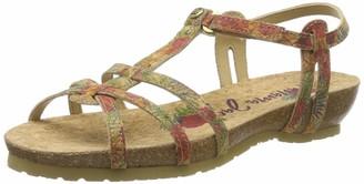 Panama Jack Women's Dori Cork Ankle Strap Sandals