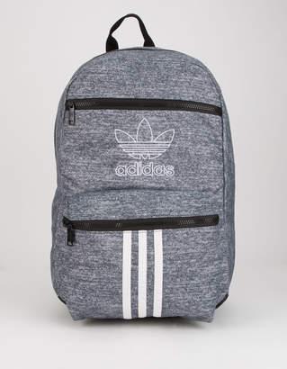 adidas National 3-Stripes Gray Backpack