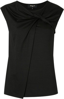 Paule Ka Sleeveless Fitted Top