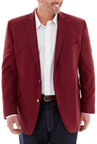 STAFFORD Stafford Hopsack Sport Coat-Big & Tall