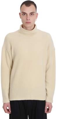 Attachment Knitwear In Beige Wool