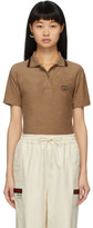 Gucci Beige Terrycloth Polo