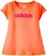 adidas Aspire Clima Top (Toddler/Kid) - Bright Orange - 4