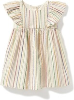 Old Navy Striped Flutter-Sleeve Dress for Baby