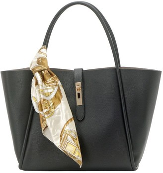 UN Billion East/West Tote Bag with Removable Pouch - Lacy