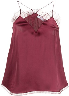 IRO Berwyn lace trim camisole