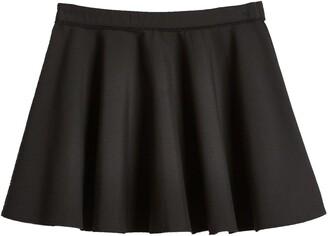 Very Girls 2 Pack Woven Skater School Skirts - Black