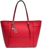 GUESS Delaney Color-Blocked Small Classic Tote