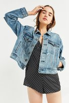 BDG Boyfriend Destroyed Denim Trucker Jacket