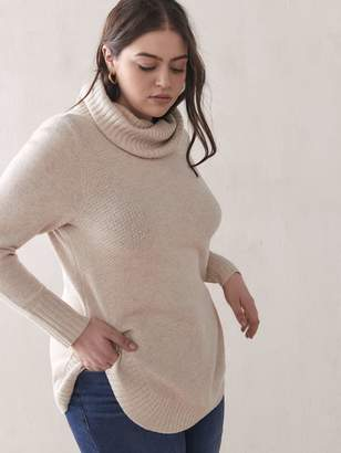 Round-Hem Mossy Sweater - Addition Elle