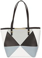 Kate Landry Teddy Geometric Tote
