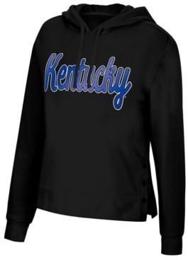 Top of the World Women's Kentucky Wildcats Snap Hem Hooded Sweatshirt