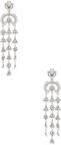 Oscar de la Renta Ornate Charm Chandelier Earring
