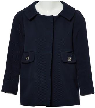 Anya Hindmarch Blue Cotton Coats
