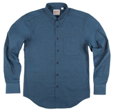 Naked & Famous Denim Shadow Oxford Regular Sportshirt