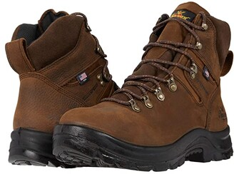 Thorogood 6 American Union Waterproof Steel Toe (Black) Men's Shoes