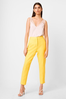 French Connection Adisa Sundae Neon Tailored Trousers