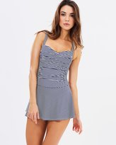 Twist Front Multifit Swim Dress