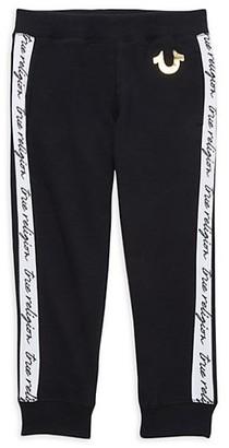 True Religion Little Boy's Logo Cotton-Blend Sweatpants