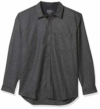 Pendleton Men's Long Sleeve Button Front Tall Trail Shirt
