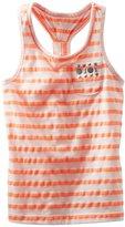 Osh Kosh Knit Tank (Toddler/Kid) - Orange Stripe-5