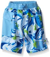 I Play I-Play Boys' Pocket Trunks with Built-In Reusable Absorbent Swim Diaper
