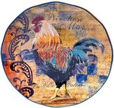 Certified International Rustic Rooster 15-in. Round Serving Platter
