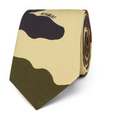 Givenchy 6.5cm Camouflage-Print Cotton Tie