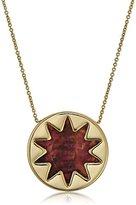 House Of Harlow Mini Sunburst Pendant Necklace