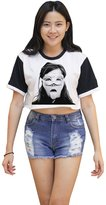 Me Women's Bjork Crop T-shirt