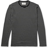 Folk - Striped Cotton-jersey T-shirt