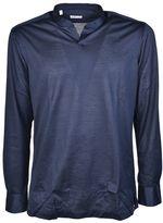 Kiton Collarless Shirt