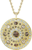 De Beers Talisman 18ct yellow-gold large medallion