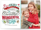 Minted Perfectly Wonderful Christmas Photo Cards
