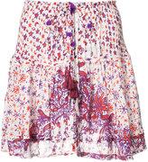 Poupette St Barth - 'Kila' printed mini skirt - women - Viscose - XS